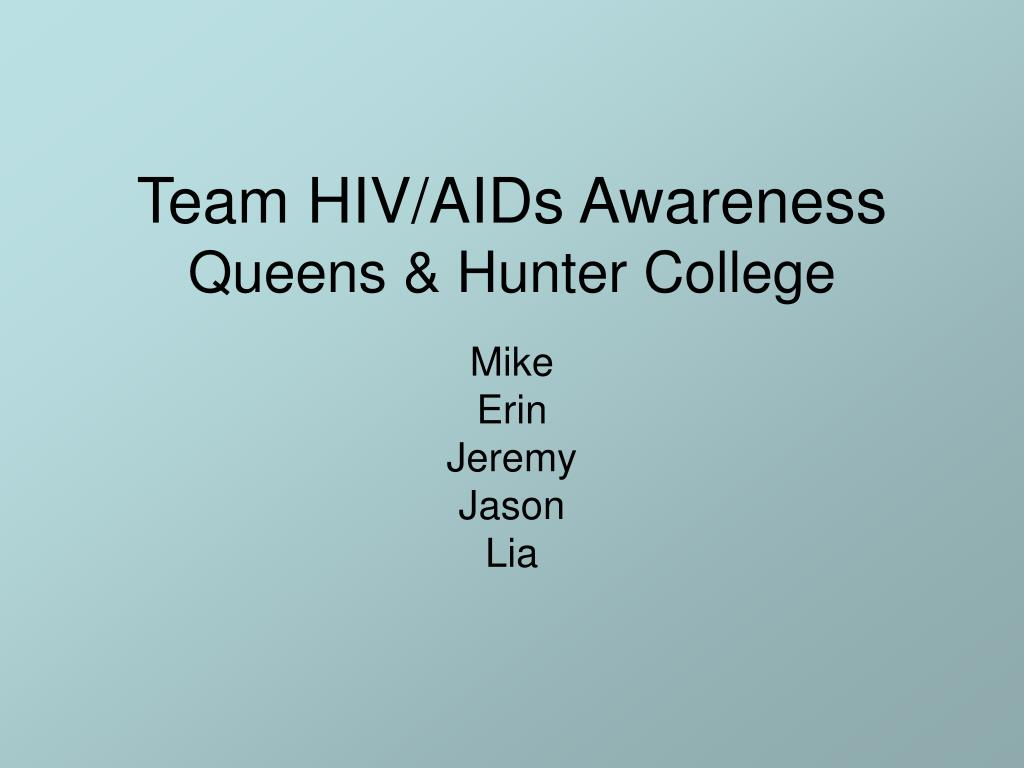Team HIV/AIDs Awareness