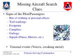 missing aircraft search clues16