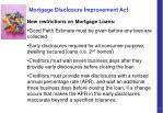 mortgage disclosure improvement act