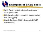examples of case tools