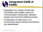 integrated case i case