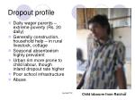dropout profile
