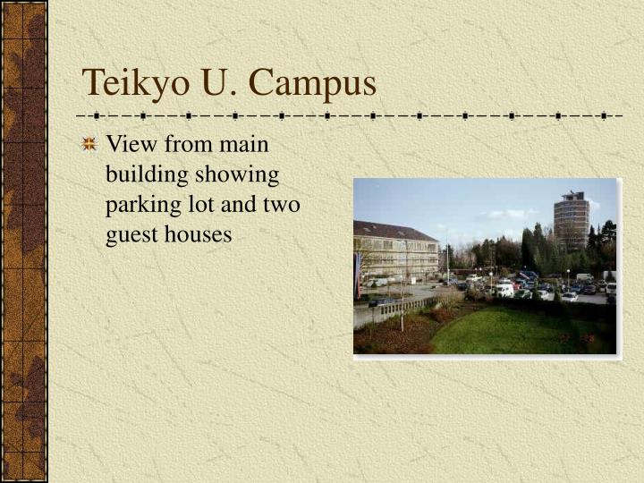 Teikyo U. Campus