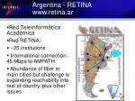 argentina retina www retina ar