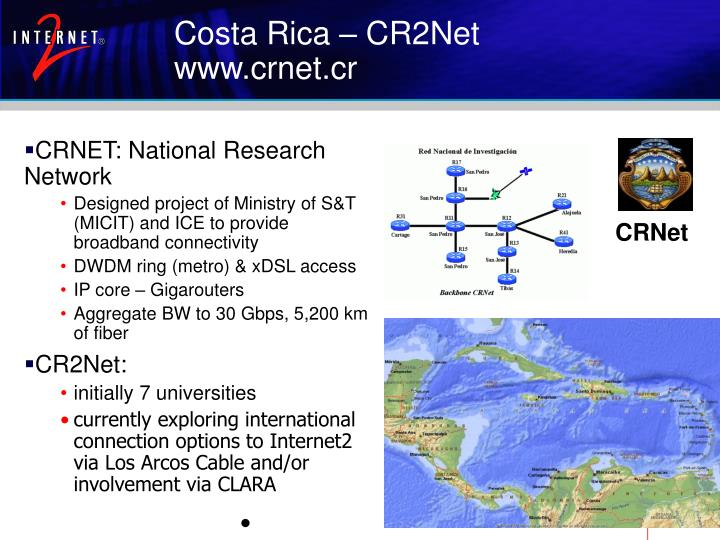CRNET: National Research Network
