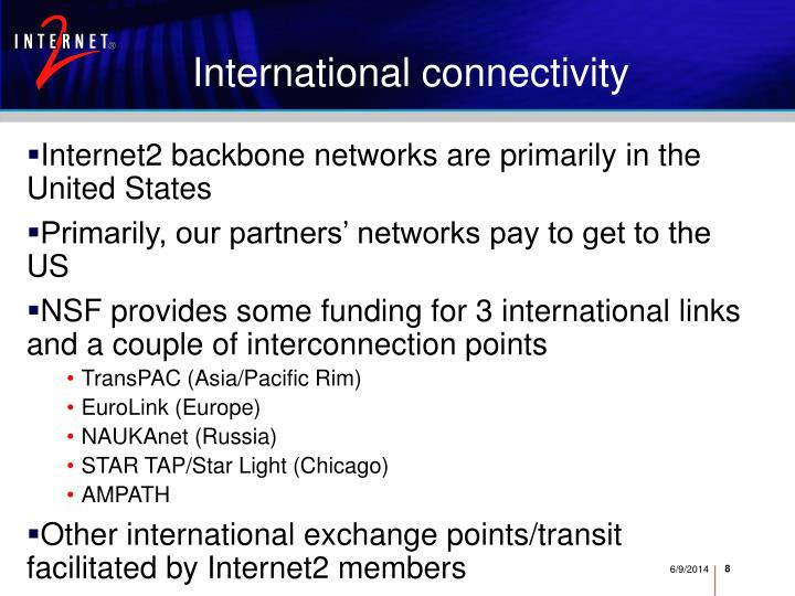 International connectivity
