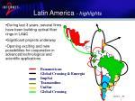 latin america highlights
