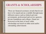 grants scholarships
