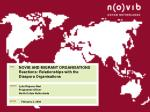 novib and migrant organisations reactions relationships with the diaspora organisations