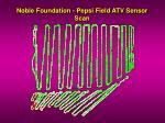 noble foundation pepsi field atv sensor scan