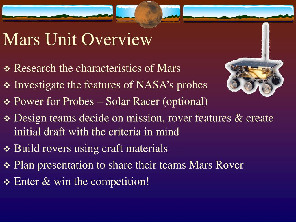 Mars Unit Overview
