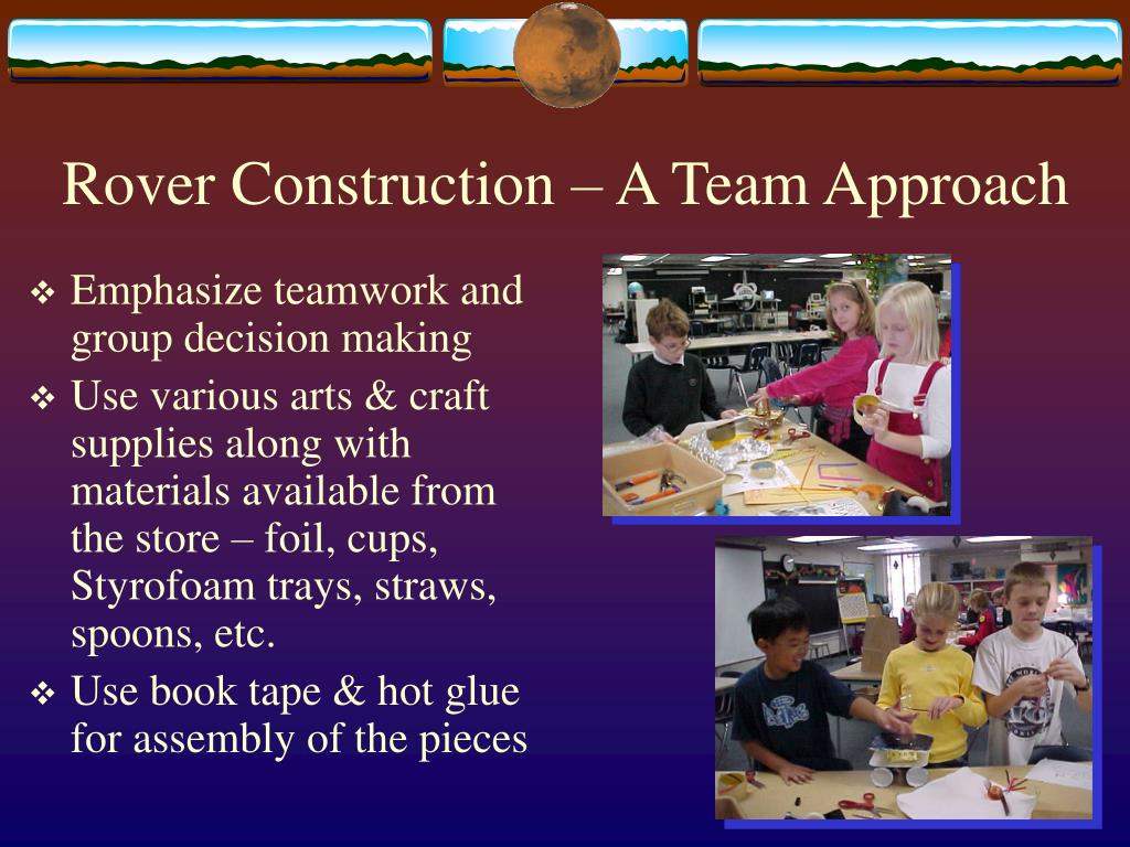 Rover Construction – A Team Approach