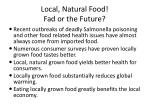 local natural food fad or the future9
