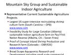 mountain sky group and sustainable indoor agriculture14