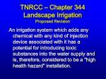 tnrcc chapter 344 landscape irrigation proposed revision