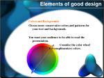 elements of good design1