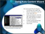using auto content wizard2