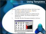 using templates2