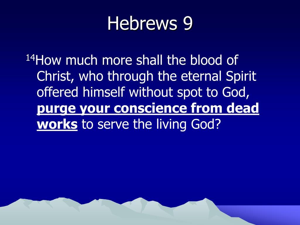 Hebrews 9