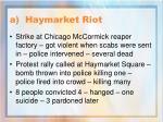 a haymarket riot