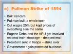 c pullman strike of 1894