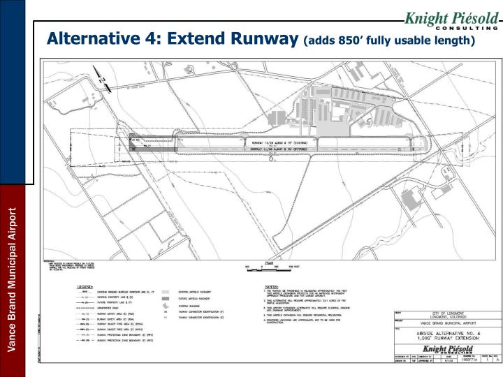 Alternative 4: Extend Runway
