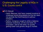challenging the legality of ags in u s courts cont d2