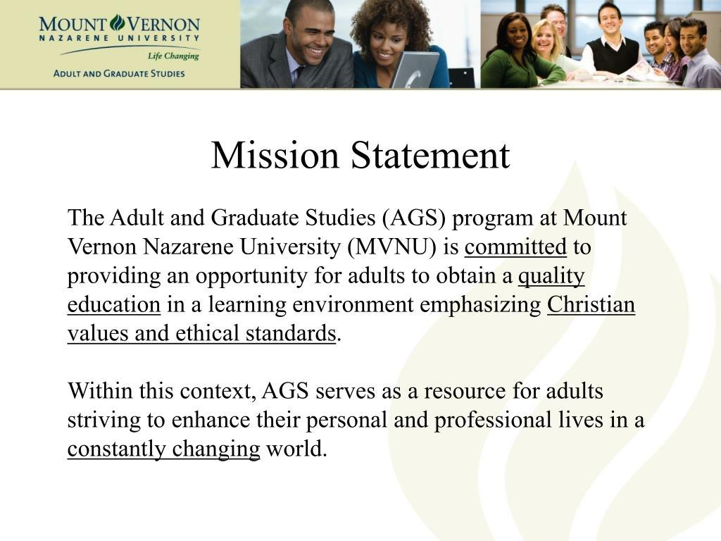 Mission Statement