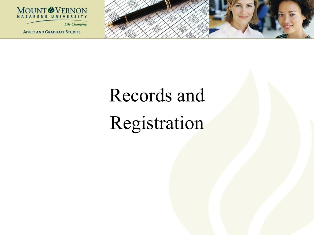 Records and