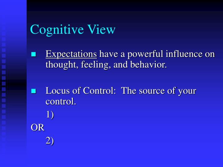 Cognitive View