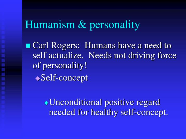 Humanism & personality