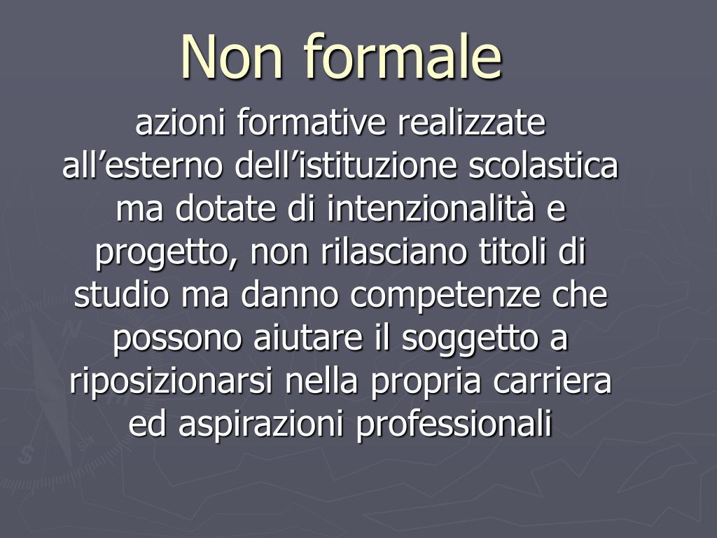 Non formale