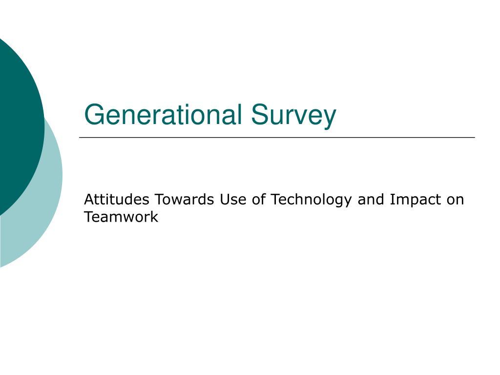generational survey l.