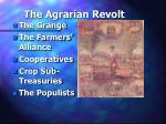 the agrarian revolt23