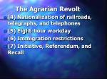 the agrarian revolt26