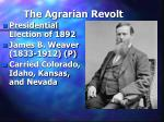 the agrarian revolt28