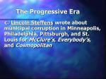 the progressive era37