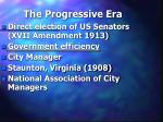 the progressive era39