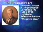 the progressive era40