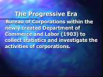 the progressive era63