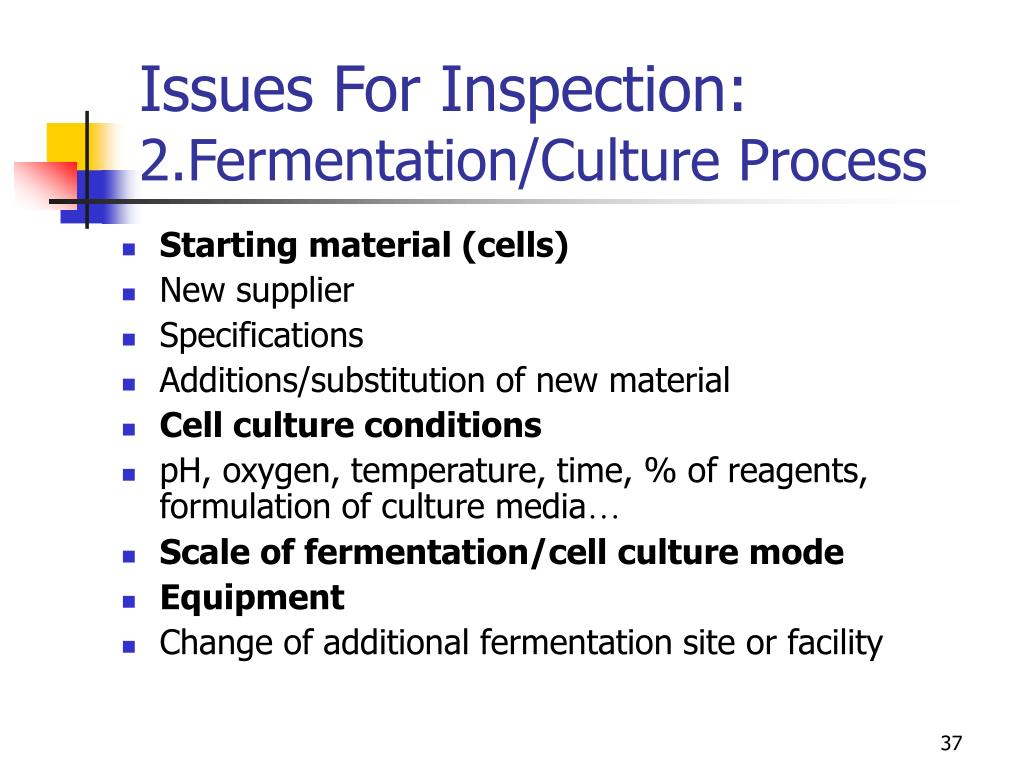 Issues For Inspection: