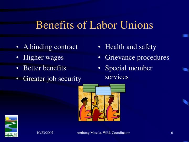the history and formation of labor unions - history of trade unions and ntuc a trade union is an organized group of employees in a particular sector, whose aim is to negotiate with employers over pay, job security, working hours by using the collective power of the members.