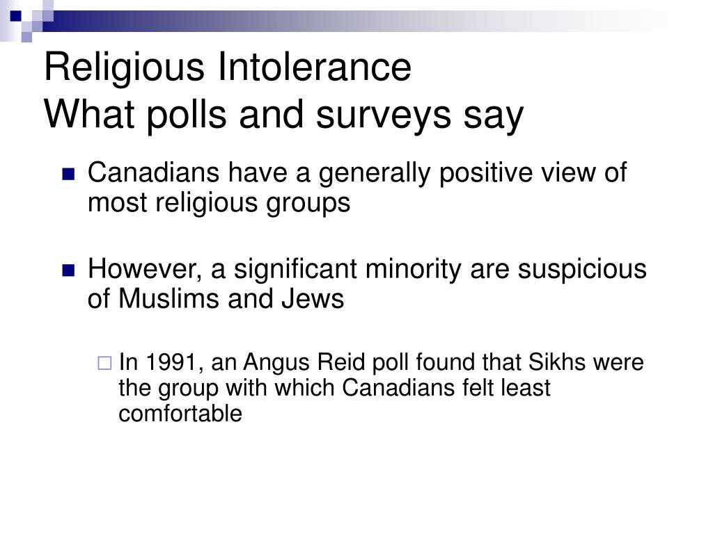 Canadians have a generally positive view of most religious groups