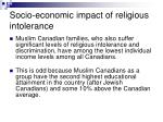 socio economic impact of religious intolerance43