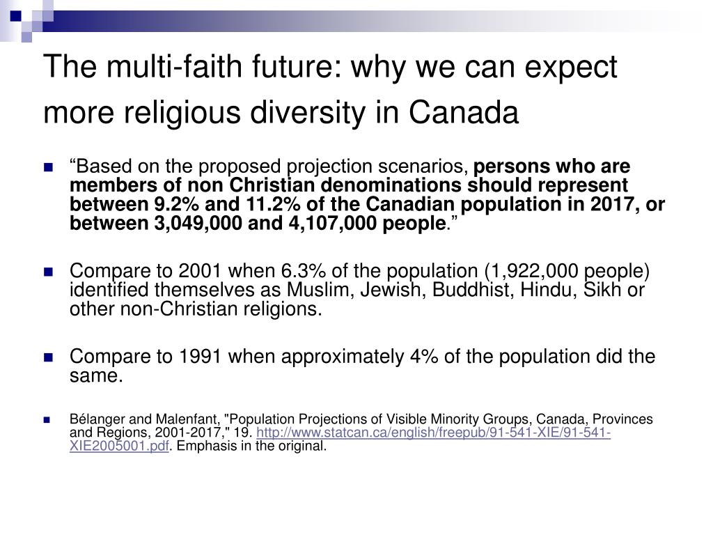 The multi-faith future: why we can expect more religious diversity in Canada