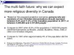 the multi faith future why we can expect more religious diversity in canada