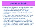 stories of truth