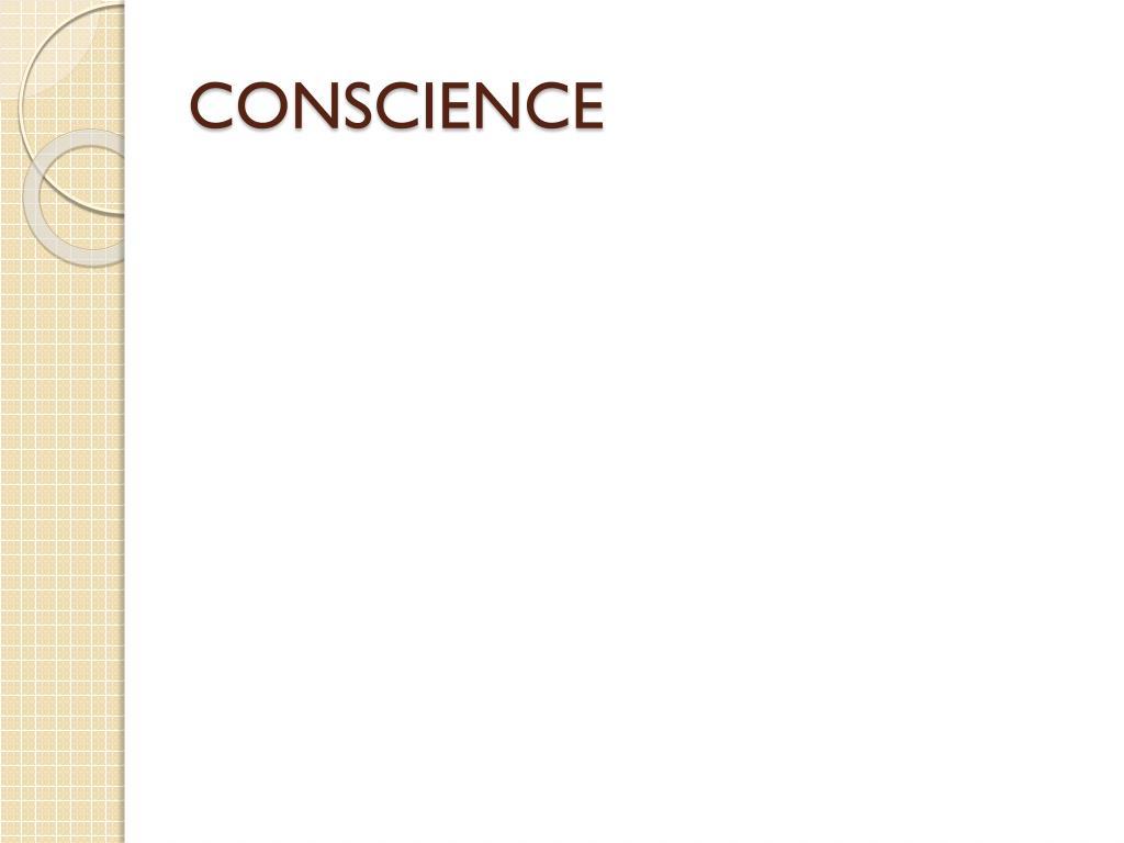 conscience l.