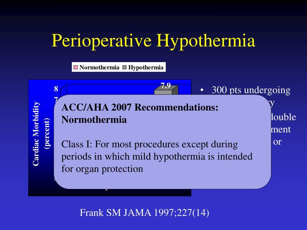 Perioperative Hypothermia