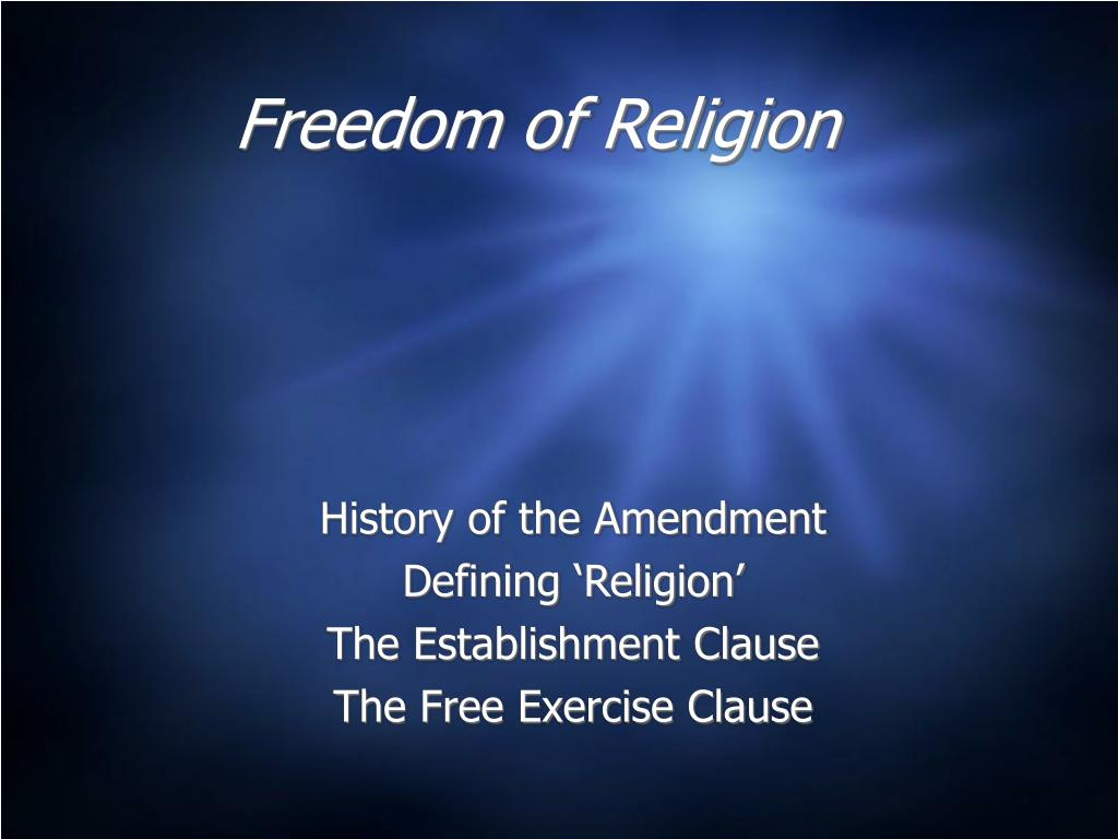 freedom of religion l.